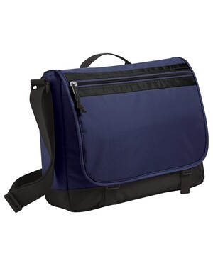 Nailhead Messenger Bag