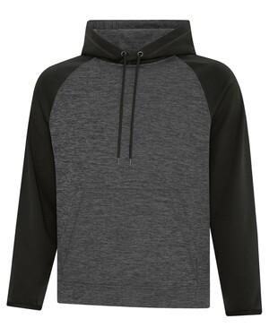Dynamic Heather Fleece Two Hooded Sweatshirt