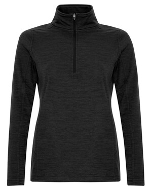 ATC Dynamic Heather Fleece 1/2 Zip Ladies' Sweatshirt