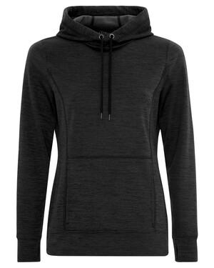 Dynamic Heather Fleece Hooded Ladies' Sweatshirt
