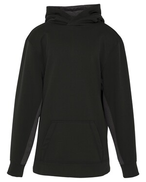 Youth Game Day Fleece Colour Block Hooded Youth Sweatshirt