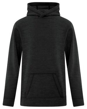 Dynamic Heather Fleece Hooded Youth Sweatshirt