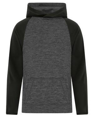 ATC Dynamic Heather Hooded Youth Sweatshirt