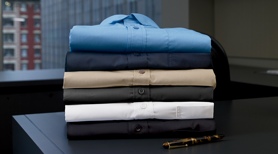 Business Casual Button-Up Shirts