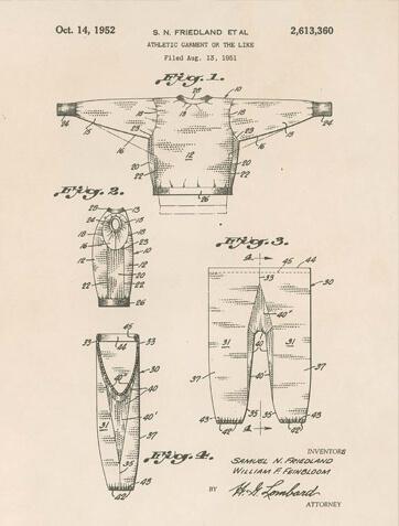 champion hoodie patent 1952