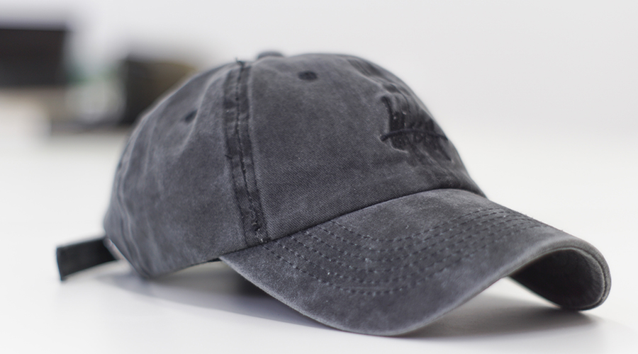 Gray Dad Hat