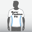 euro/fashion fit t-shirt