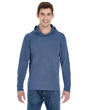 Comfort Colors 4900 Adult Long-Sleeve Hooded T-Shirt