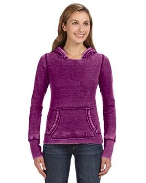 J. America JA8912 Women's Zen Pullover Fleece Hoodie
