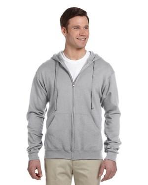 Jerzees 993 8 oz., 50/50 NuBlend Full-Zip Hoodie